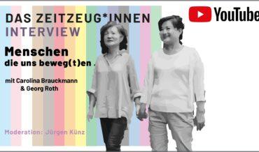 Menschen, die uns beweg(t)en – Couchgespräch mit Carolina Brauckmann und Georg Roth