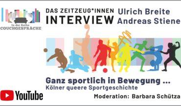 Kölns queere Sportgeschichte – Couchgespräch mit Andreas Stiene und Ulrich Breite